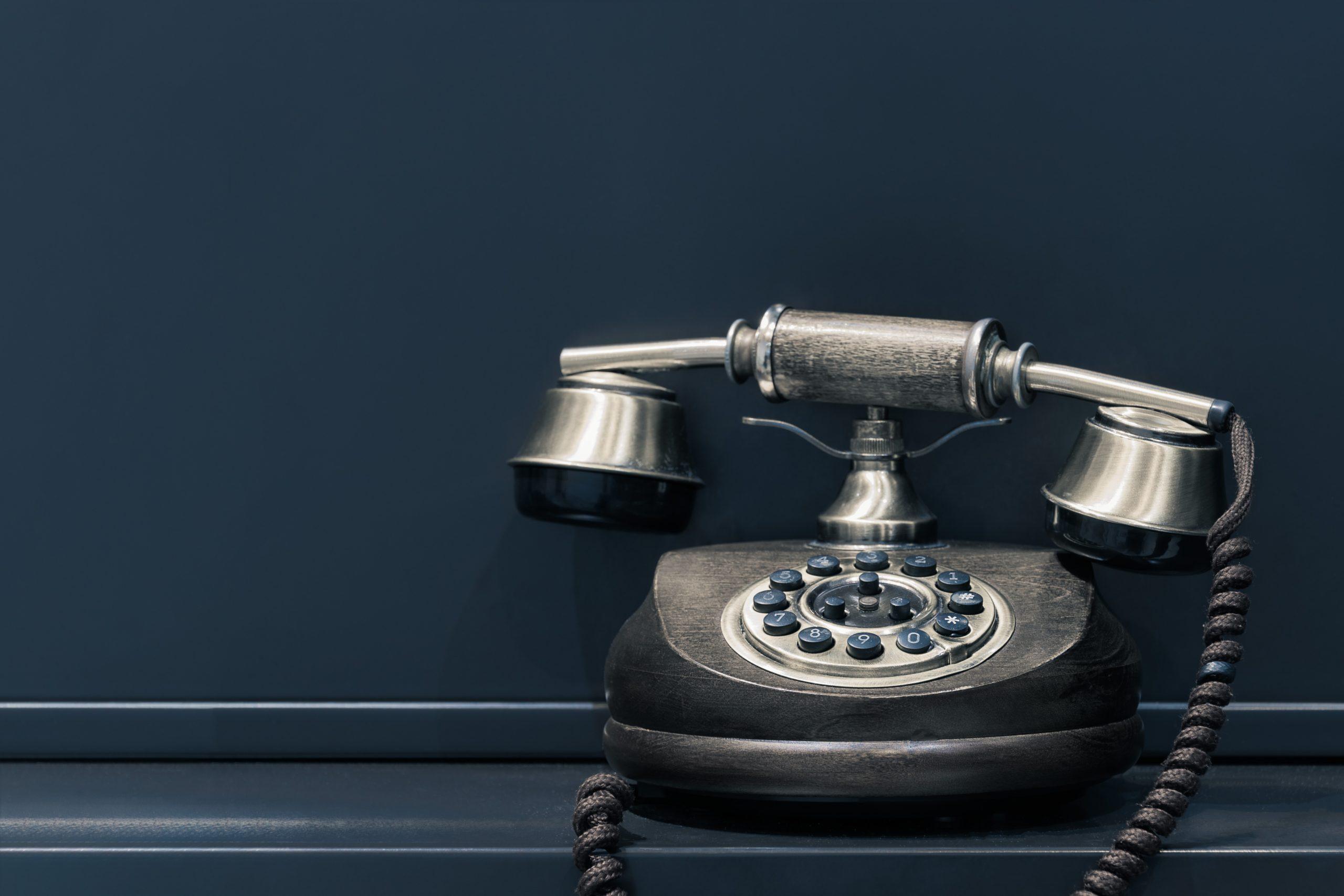 電話の場合