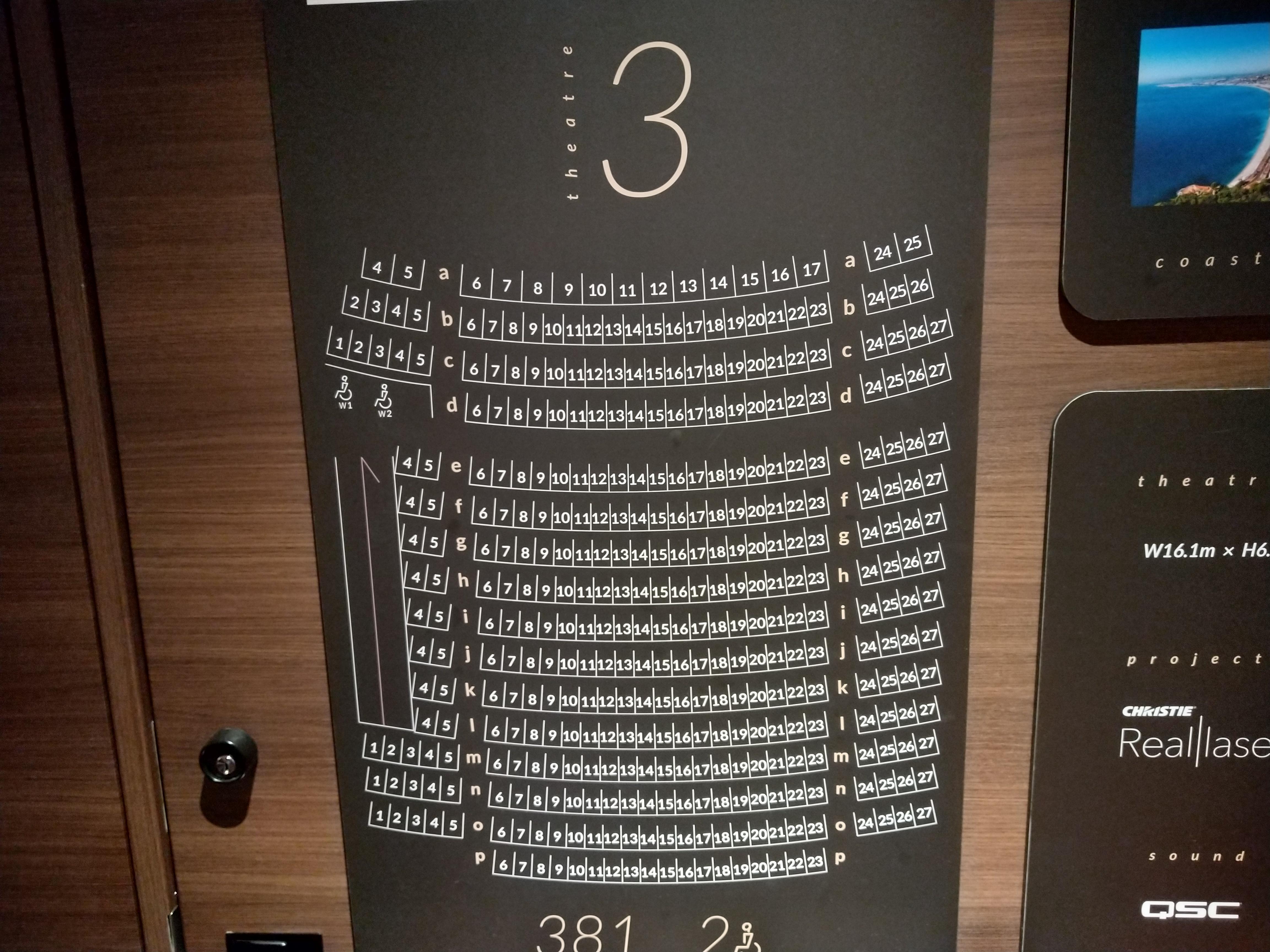 グランドシネマサンシャイン池袋の座席をフラットシートで鑑賞してみた キネマフリーク 年間150本の映画を観る男のおすすめ洋画ブログ