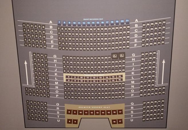 TOHOシネマズ新宿のスクリーン9の詳細